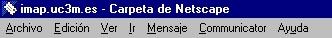 Barra de Menú